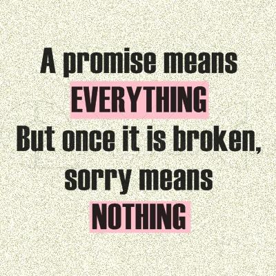 Promise Means Everything