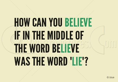 The Word Believe - Quote for FB