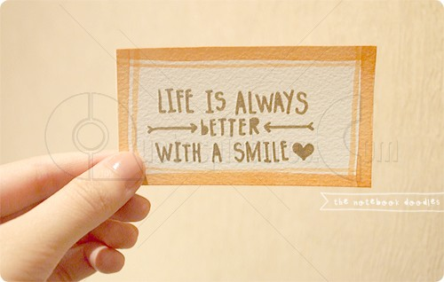 Life is always better with a smile