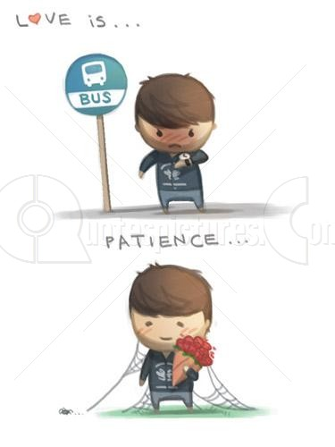 Love is patience