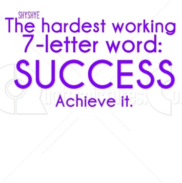 Hardest working word – Success - Quotespictures.com