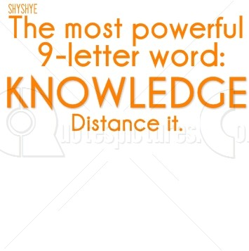Most Powerful Word - Knowledge
