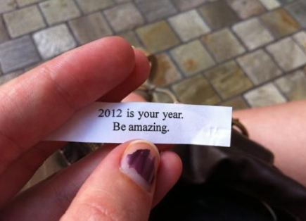 2012 Is Your Year ,Be amazing ~ Astrology Quote