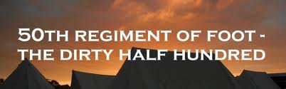 50th Regiment of Foot ~ The Dirty Half Hundred ~ Boldness Quote