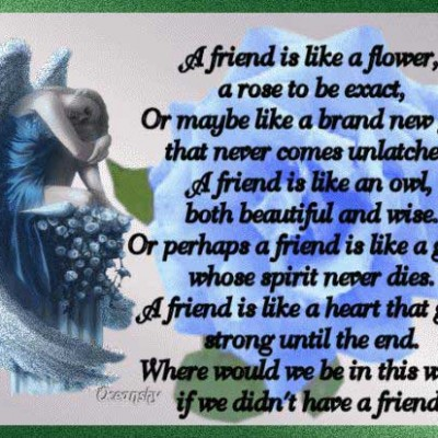 a friend is like a flower flower quote com