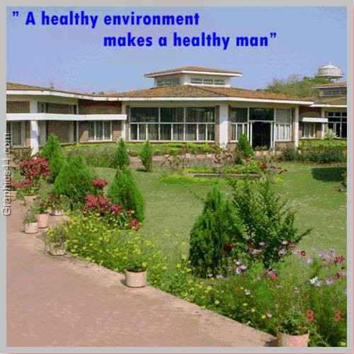 A healthy environment makes a healthy man ~ Environment Quote