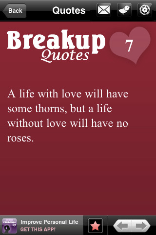 A Life With Love will have Some thorns,but a life without love will have no roses