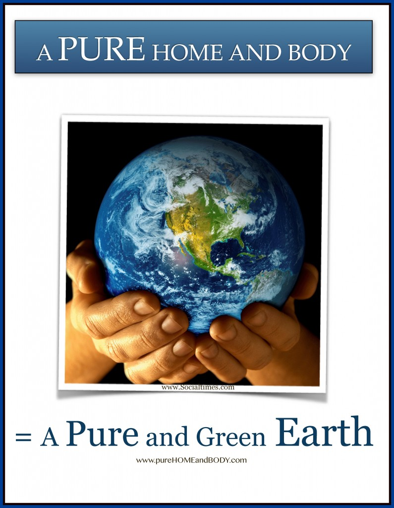 A Pure and Green Earth ~ Earth Quote