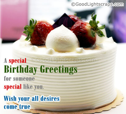 A special birthday greetings for someone special like you birthday a special birthday greetings for someone special like you birthday quote m4hsunfo