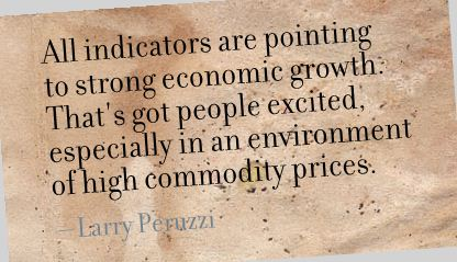 All Indicators are Pointing to strong Economic Growth ~ Environment Quote