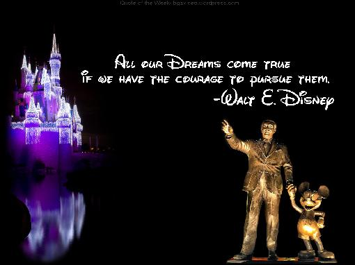 All Our Dreams Come True ~ Dreaming Quote
