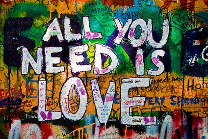 All You Need Is Love ~ Flirt Quote