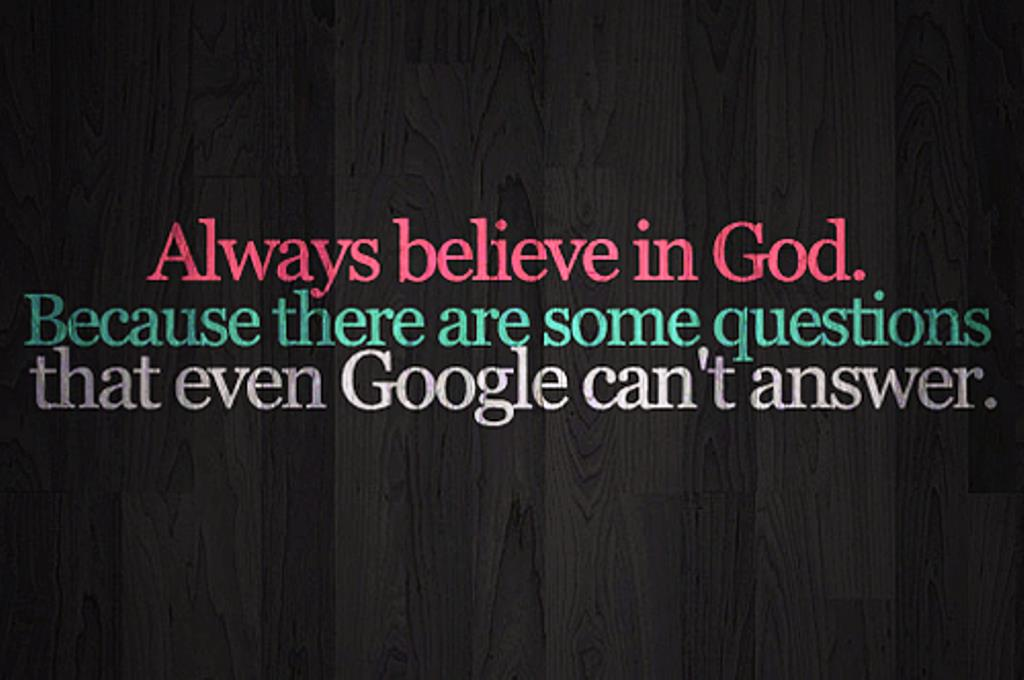 Always believe In God ~ Faith Quote - Quotespictures.com