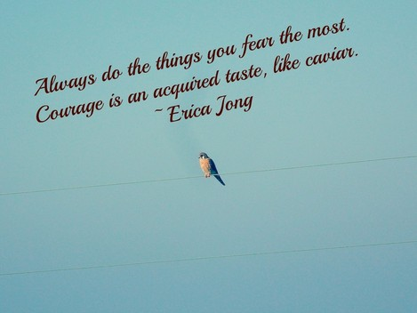 Always Do the things You Fear the Most ~ Fear Quote