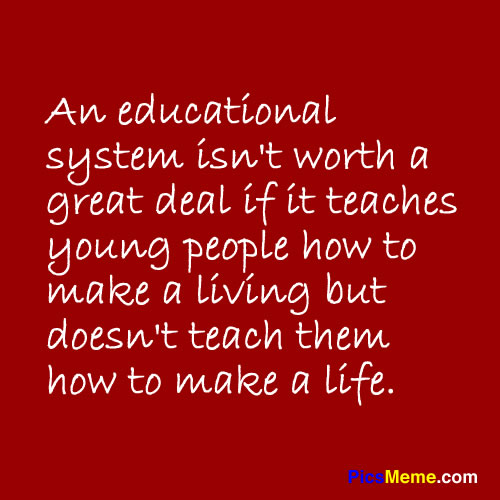 the need for reforming the education system Root cause: factory model of management to decide what is the single best idea for reforming k-12 education, one needs to figure out what is the biggest problem that the system currently faces.