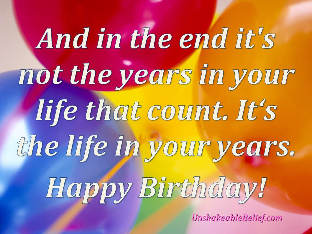 Birthday Quotes (195 Quotes On Images) : Page 25