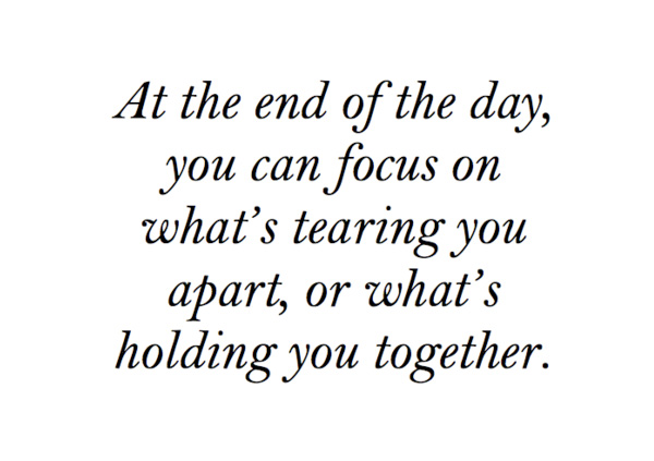 tearing you apart or whats holding you together   Being In Love QuoteQuotes About Being In Love