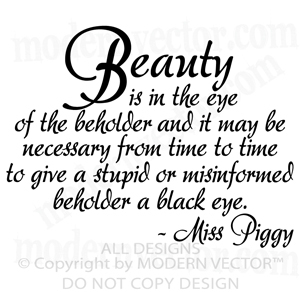 beauty is the eye of the beholder essay