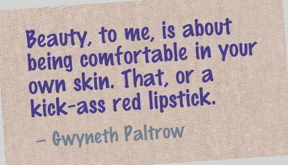 Beauty To Me Is About Being Comfortable In Your Own Skin Beauty
