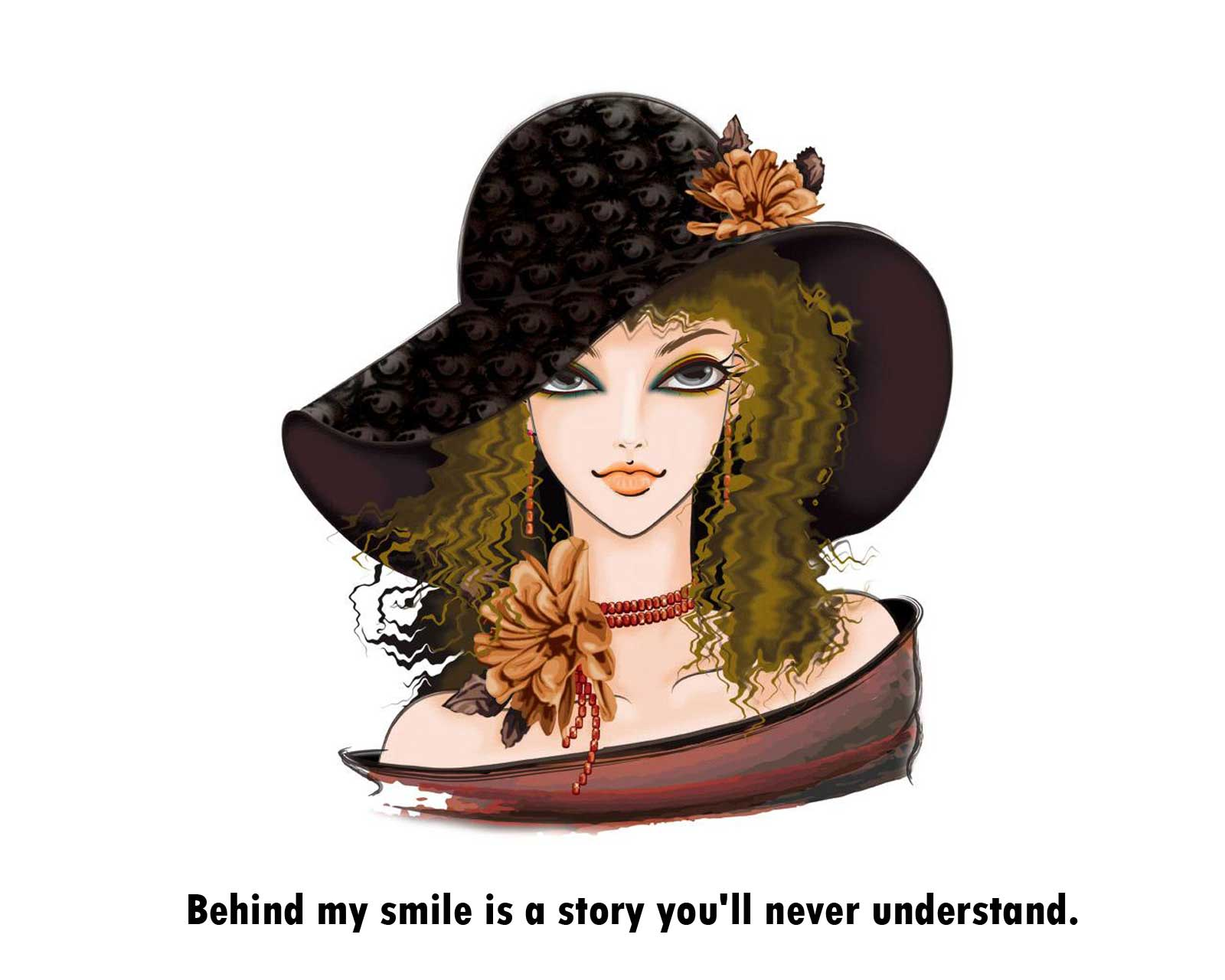 Behind My Smile Is A Story Youll Never Understand Attitude Quote