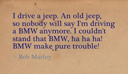 BMW make Pure Trouble! ~ Freedom Quote