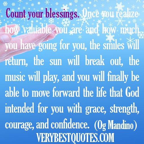 Quotes About Counting Your Blessings: You Are A Blessing Quotes. QuotesGram