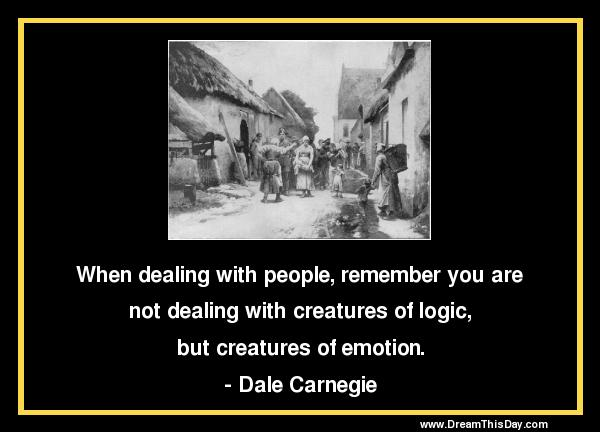 Creatures of Emotion ~ Emotion Quote