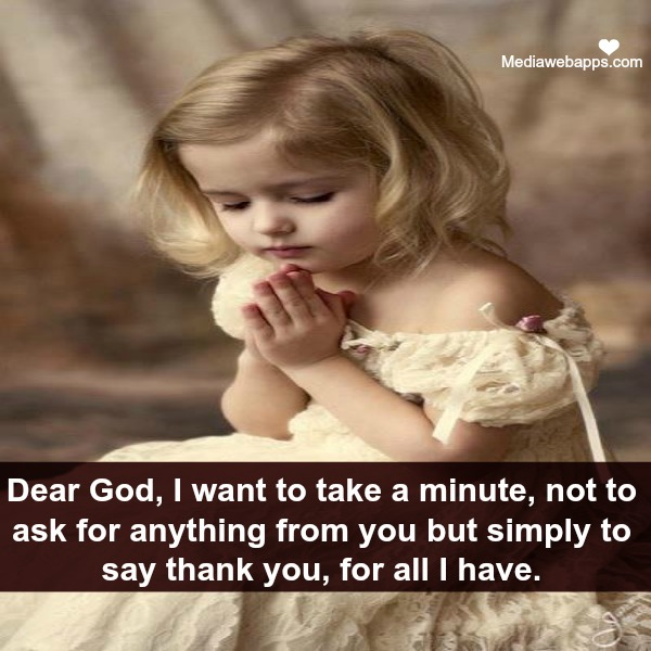 Dear God,I want to take a minute ~ Flirt Quote