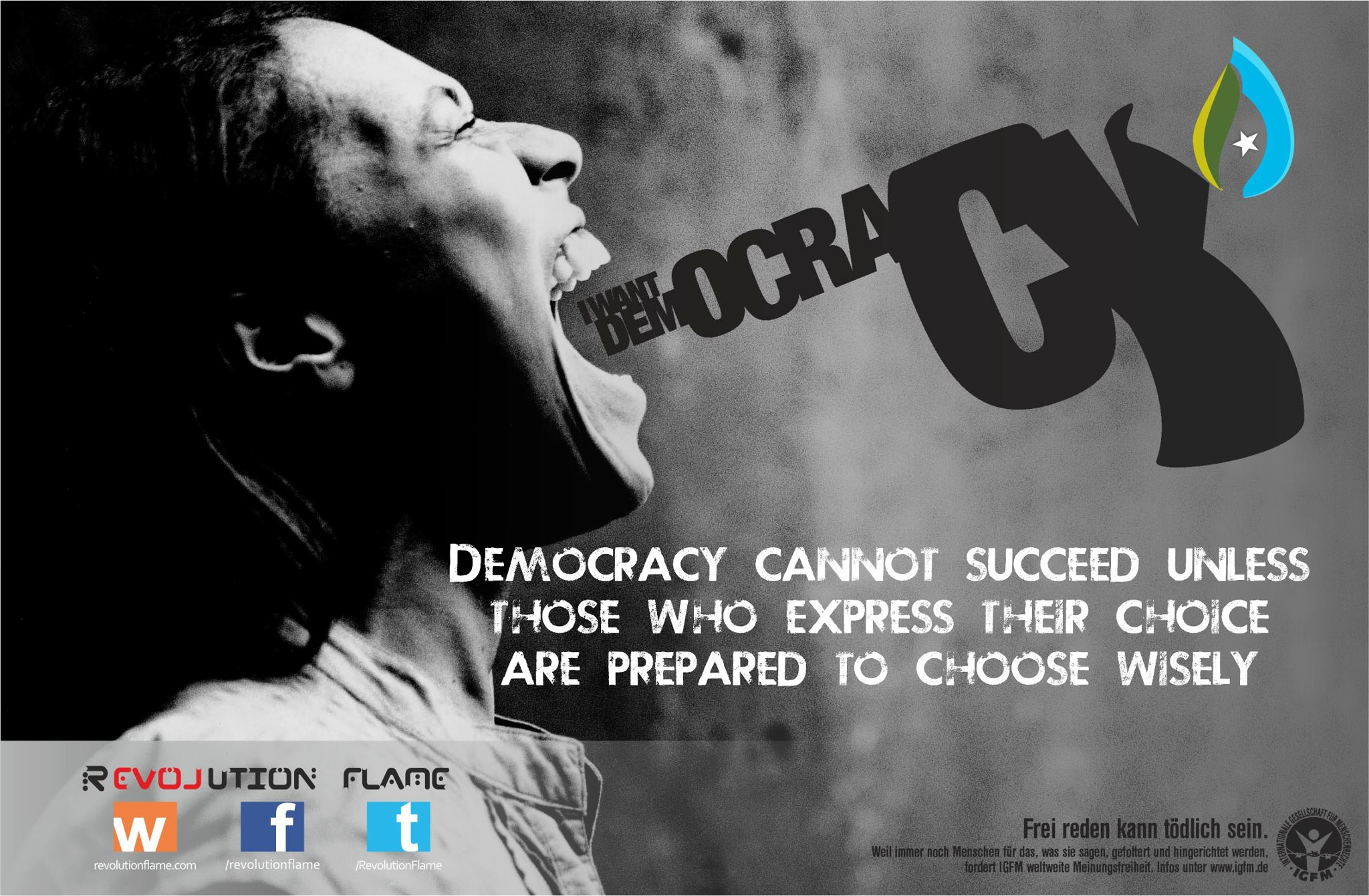 Democracy Cannot Succeed Unless Those Who Express Their Choice Are Prepared to choose Wisely ~ Democracy Quote