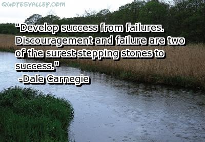 Develop Success From Failures ~ Failure  Quote