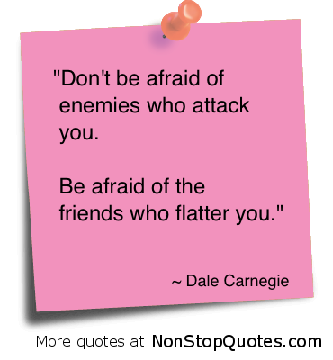 Dale Carnegie Quotes On Enemies