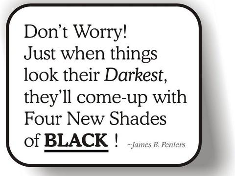 Don't Worry! Just When things Look Their Darkest ~ Faith Quote