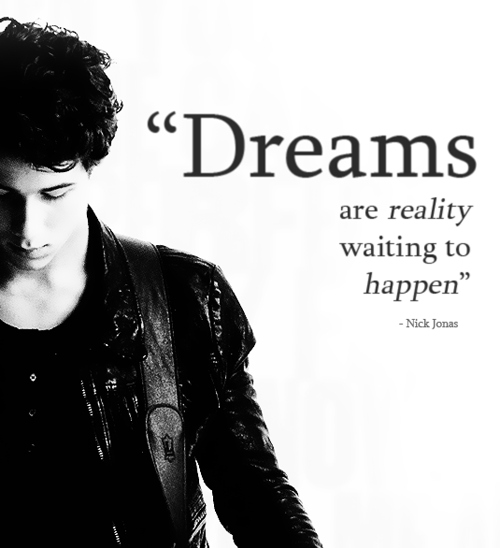 """""""Dreams are reality waiting to happen"""" ~ Dreaming Quote"""