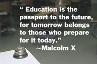 Education Is The Passport to the future ~ Education Quote