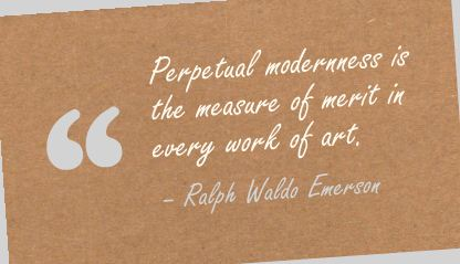 Every Work of Art ~ Art Quote