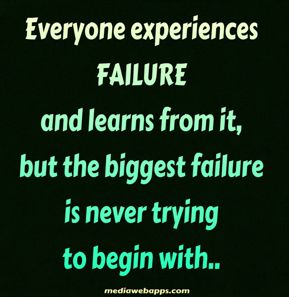 Inspirational Quotes About Failure: Funny Quotes About Failure. QuotesGram