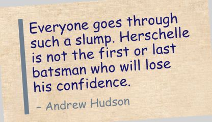 Everyone Goes through Such a Slump ~ Confidence Quote