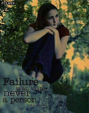 Failure Is an Event ~ Failure Quote