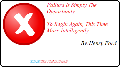 Failure Is Simply The Opportunity ~ Failure Quote