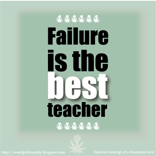 Failure Is the Best Teacher ~ Failure Quote