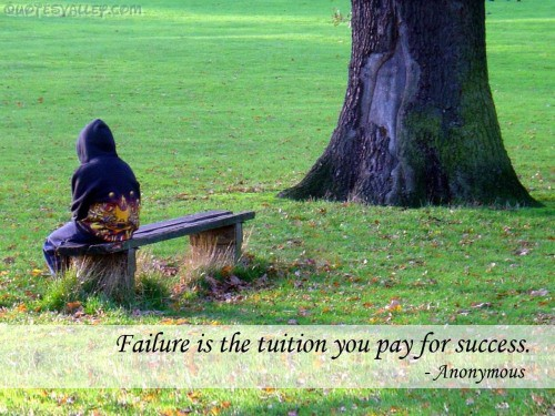 Failure Is The Tuition You Pay For Success ~ Failure  Quote