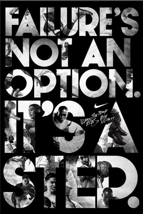 Failure's Not an Option,It's A Step ~ Failure Quote