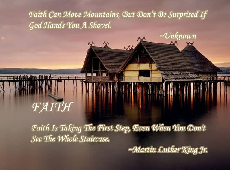 MARCIE: God can move mountains quotes