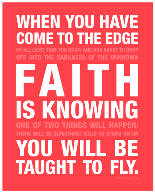 Faith Is Knowing ~ Faith Quote
