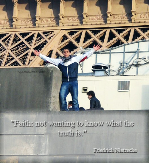 """""""Faith Not Wanting to Know What the Trust Is"""" ~ Faith Quote"""