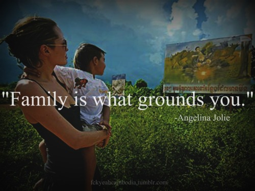 """""""Family Is What Grounds You"""" ~ Family Quote"""