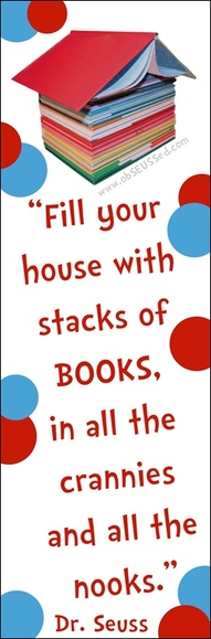 Fill Your House With Stacks of Books ~ Books Quote