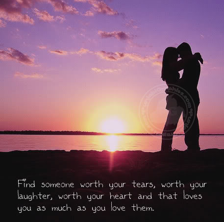 Find Someone Worth Your Tears