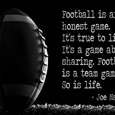 Great Football Quotes Beauteous Football Is An Honest Game Football Quote Quotespictures