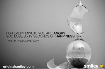 For Every Minute You Are Angry You Lose Sixty Seconds Of Happiness ~ Emotion Quote